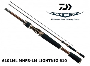 DAIWA STEEZ 6101ML MHFB-LM LIGHTNIG 610