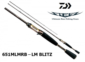 DAIWA STEEZ 651MLMRB-LM BLITZ Power Plus
