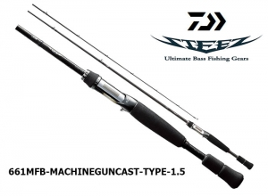 DAIWA STEEZ 661MFB MACHINEGUNCAST TYPE-1.5