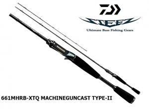 DAIWA STEEZ 661MHRB-XTQ MACHINEGUNCAST TYPE-II