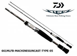DAIWA STEEZ 661MLFB MACHINEGUNCAST TYPE-0.5
