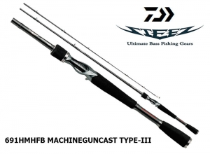 DAIWA STEEZ 691HMHFB MACHINEGUNCAST TYPE-III