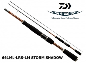 DAIWA STEEZ 661ML LRS-LM STORM SHADOW