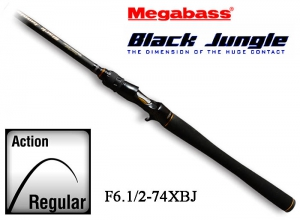 MEGABASS BLACK JUNGLE F6.1/2-74XBJ