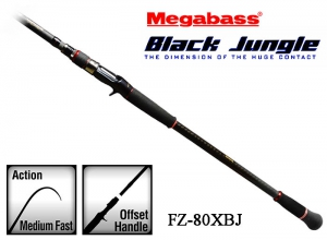 MEGABASS BLACK JUNGLE FZ-80XBJ