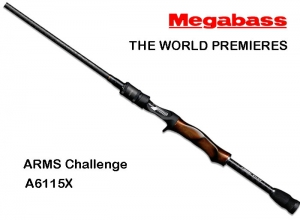 MEGABASS ARMS Challenge A6115X (FREE SHIPPING)