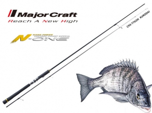 GarageSale MajorCraft CROSTAGE CRX-S782ML BLACK SEABREAM(Solid Tip Model)