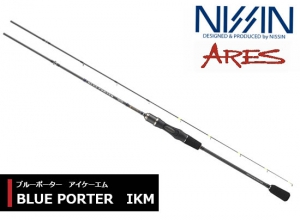 NISSIN ARES BLUE PORTER IKM 606M (Free shipping)