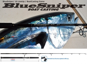 YAMAGA BLANKS Blue Sniper 81/6 Blacky (TUNA Model)