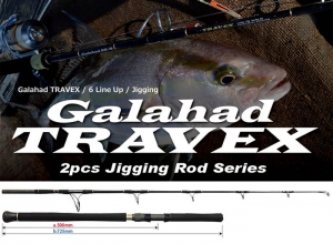 YAMAGA BLANKS Galahad 58/10 TRAVEX Spinning Model