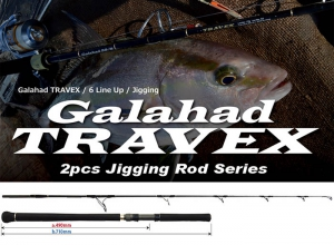 YAMAGA BLANKS Galahad 59/4 TRAVEX Spinning Model