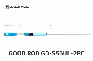 JACKALL GOOD ROD GD-S56UL-2PC BLUE (FREE SHIPPING)