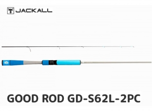 JACKALL GOOD ROD GD-S62L-2PC BLUE (FREE SHIPPING)