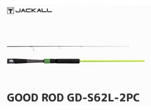 JACKALL GOOD ROD GD-S56UL-2PC GREEN (FREE SHIPPING)