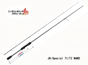 YAMAGA BLANKS BLUE CURRENT 71 TZ/NANO JHSP (In stock)(Free Shipping)