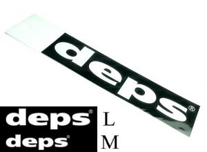 deps CUTTING STICKER / M-White