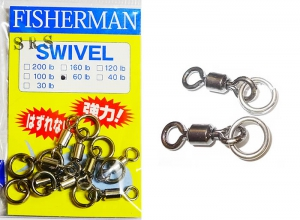 FISHERMAN SRS SWIVEL 60lb