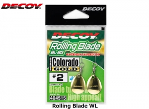 DECOY Rolling Blade CR BL-8 GOLD #1