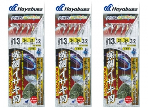 HAYABUSA Falls Sabiki Monster13-18 / 3pcs