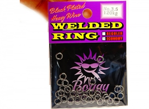 Boggy Welded Ring No.3.5 Economy Pack