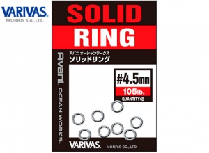 VARIVAS AVANI OCEAN WORKS SOLID RING 105LB