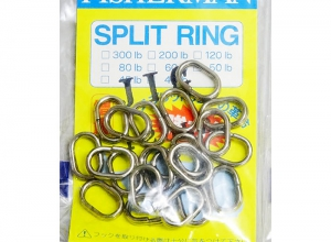 FISHERMAN JIG SPRIT RING 120lb