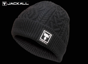 Christmas Sale JACKALL KNIT CAP BLACK