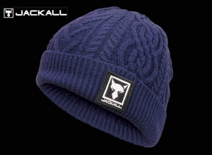 Christmas Sale JACKALL KNIT CAP NAVY