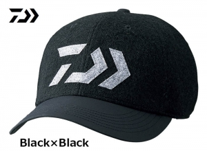 Garage Sale DAIWA 2018 Winter DC-34008W Wool Cap Black-Black