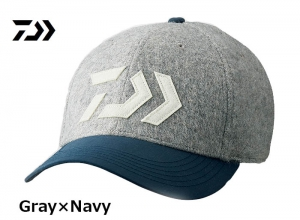 Garage Sale DAIWA 2018 Winter DC-34008W Wool Cap Gray-Navy