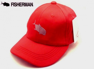 FISHERMAN Pocketable Cap/Red