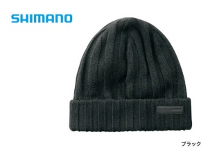 Shimano Breath Hyper +°C Fleece knit watch cap CA-064S / Black (2019 Sep debut)