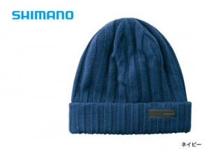 Shimano Breath Hyper +°C Fleece knit watch cap CA-064S / Navy (2019 Sep debut)