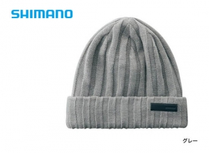 Shimano Breath Hyper +°C Fleece knit watch cap CA-064S / Gray (2019 Sep debut)