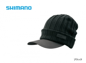 Shimano Breath Hyper +°C Fleece knit cap CA-065S / Black (2019 Sep debut)