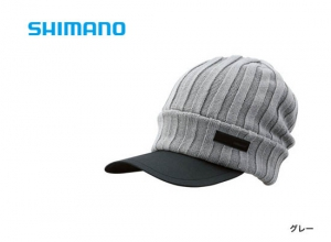 Shimano Breath Hyper +°C Fleece knit cap CA-065S / Gray (2019 Sep debut)
