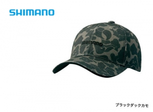 Shimano Print cap CA-071S / Black duck camo  (2019 Sep debut)