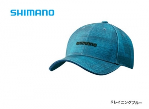 Shimano Print cap CA-071S / Draining blue (2019 Sep debut)