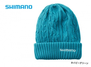 Shimano Low gauge knit watch CA-074S / Navy green (2019 Sep debut)