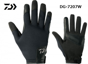 GarageSale DAIWA COLDPROOF JIGGING GLOVE 2XL Black