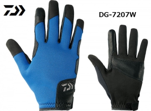 GarageSale DAIWA COLDPROOF JIGGING GLOVE 2XL Blue