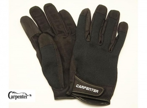 Carpenter Fishing Glove II Natural 3D Structure Type XL-Black