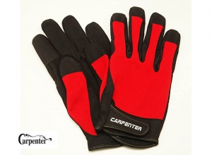Carpenter Fishing Glove II Natural 3D Structure Type L-Red
