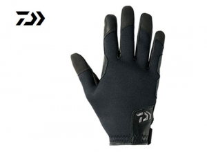 DAIWA DG-7207W Cold weather JIGGING Glove  Size-L Black
