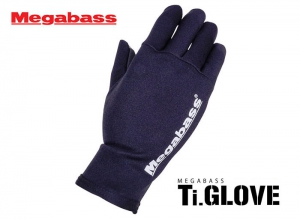 MEGABASS Ti GLOVE Black/Orange XL