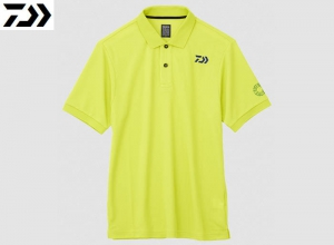 Xmas Sale DAIWA DE-6607 BE EARTH FRIENDLY POLO SHIRT Sulphur-Sp