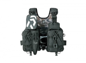 DAIWA DF-6206 Float Game Vest / Jet Black
