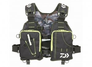DAIWA LIGHT FLOAT GAME VEST DF-6406 Black