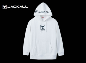 JACKALL PULLOVER HOODIE WHITE/L