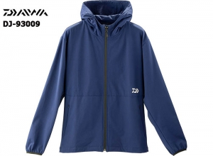DAIWA DJ-93009 STRETCH FULL ZIP HOODY NAVY-2XL(October Debut)